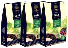 Oosh Dried Whole Blueberry Cranberry Mix 200 G ( Pack Of 3 )
