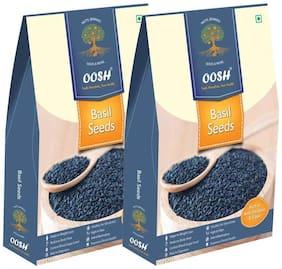 Oosh Premium Basil Seeds 1 Kg ( Pack Of 2 - 500G Each)