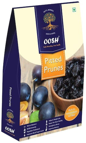 Oosh Premium California Pitted Prunes 250 G ( Pack Of 1 )