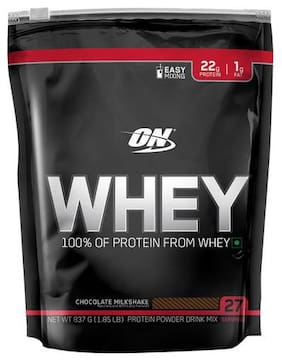 Optimum Nutrition Whey Protein Powder - 100%  Double Rich Chocolate  Gold Standard 1.85 lb