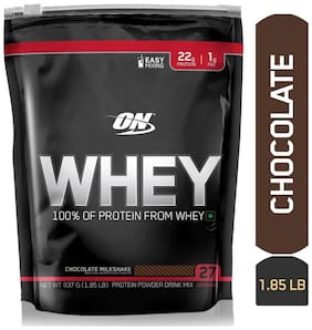 Optimum Nutrition (ON) 100% Whey Protein Powder - 0.83 kg (1.85 lb) (Chocolate)