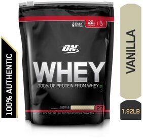 Optimum Nutrition (ON) 100% Whey Protein Powder - 0.82 kg (1.82 lb) (Vanilla)