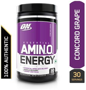 Optimum Nutrition (ON) Amino Energy - 30 Servings (Concord Grape)