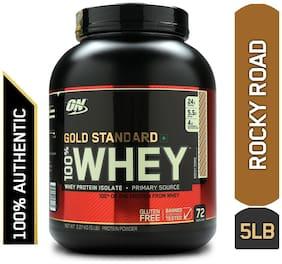 Optimum Nutrition (On) Gold Standard 100% Whey Protein Powder - 2.27 kg (5 lb) (Rocky Road)