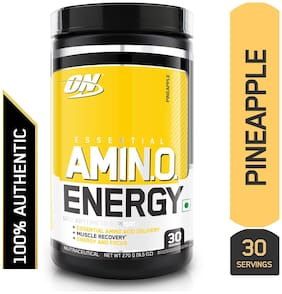 Optimum Nutrition (ON) Amino Energy - 30 Servings (Pineapple)