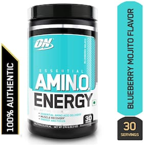 Optimum Nutrition (ON) Amino Energy - 30 Servings (Blueberry Mojito)
