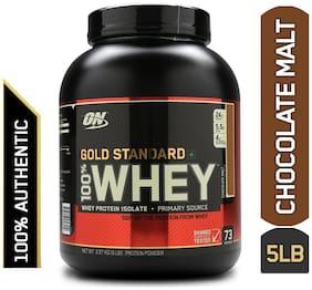 Optimum Nutrition (On) Gold Standard 100% Whey Protein Powder - 2.27 kg (5 lb) (Chocolate Malt)