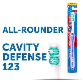 Oral-B Tooth Brush - All Rounder Cavity Defense 123, Soft 1 pc