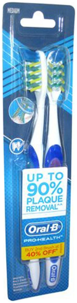 Oral-B Tooth Brush Pro Health Medium 2 pcs