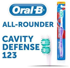 Oral-B Toothbrush All Rounder - Cavity Defence 123  Medium 1 pc