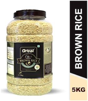 Oreal Unpolished Brown Rice - 5 kg