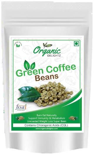 Organic Delightz Green Coffee Beans - 100 g