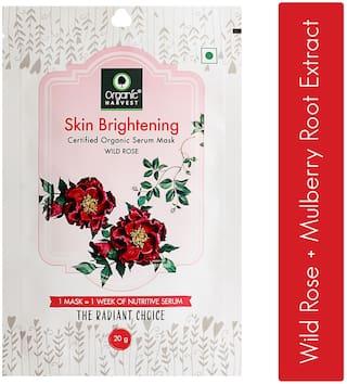 Organic Harvest Skin Brightening Face Sheet Mask 20g