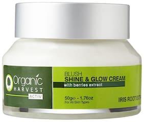 Organic Harvest Activ Range Shine and Glow Cream, 50g