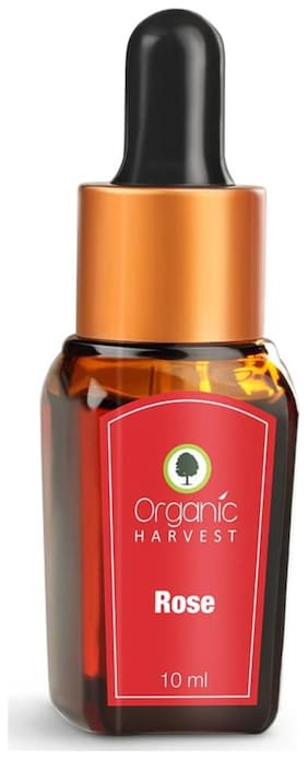 Organic Harvest Rose Essential Oil, 10ml