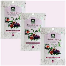 Organic Harvest Shine & Glow Face Sheet Mask 20 g (Pack of 3)