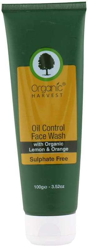 Organic Harvest Face Wash for Oil Control;100gm
