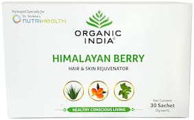 Organic India Himalayan Berry for Immunity 30 Sachets Each (Pack Of 2)