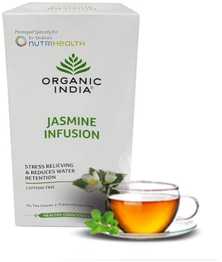 Organic India Jasmine Infusion 25 Teabags (Pack Of 1)