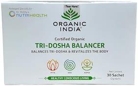 Organic India Tri-Dosha Balancer 30 sachets for Diabetes and gut health 60 g