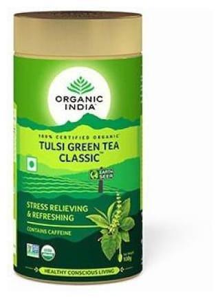 Organic India Tulsi Green Tea Classic Tin;100g