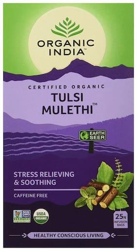 Organic India Tulsi Mulethi;25Pcs