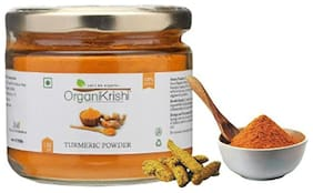 OrganiKrishi Turmeric Powder High Curcumin/150g (Ayurvedic/100% Natural/Immunity Booster/Aromatic/Pure)