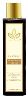 ORGERA Herbal sulphate free Face wash activated bamboo charcoal 200 ml