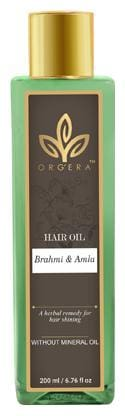 ORGERA Herbal Hair Oil Brahmi Amla 200 ml