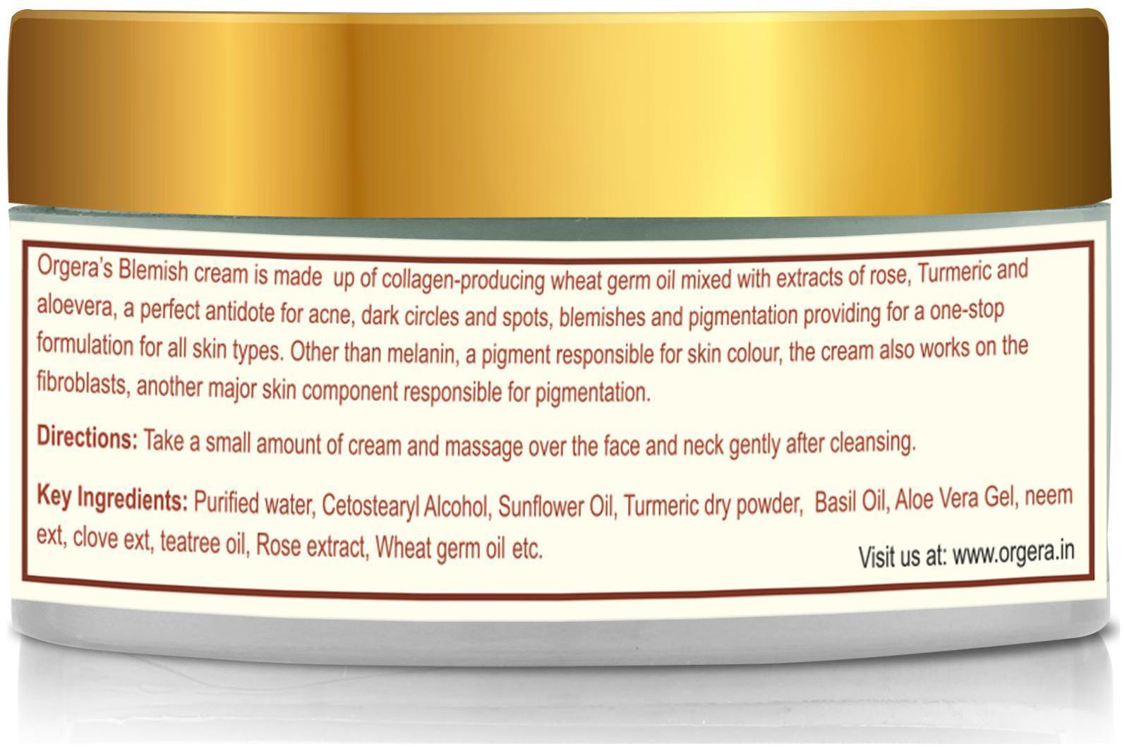 ORGERA Herbal Cream Anti Blemish 50 gm