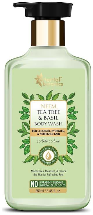 Oriental Botanics Neem/Tea Tree And Basil Anti Acne Body Wash -250ml