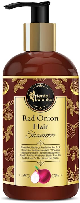 Oriental Botanics Red Onion Hair Growth Shampoo;300ml (Pack of 1)
