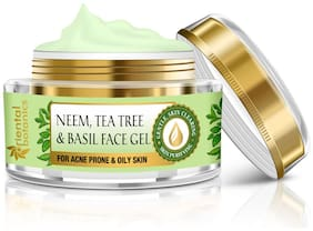Oriental Botanics Neem/Tea Tree And Basil Anti Acne Face Gel -50g