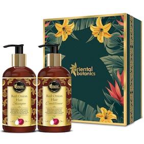 Oriental Botanics Red Onion Hair Shampoo 300ml  Conditioner Kit 300ml (Pack of 2)