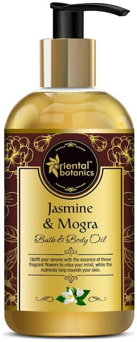 Oriental Botanics Bath & Body Oil (Jasmine & Mogra) - 200ml (Pack of 1)
