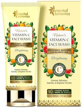 Oriental Botanics Nature's Vitamin C Brightening Face Wash  100g