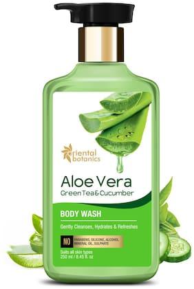 Oriental Botanics Aloe Vera, Green Tea & Cucumber Body Wash 250 ml (Pack Of 1)