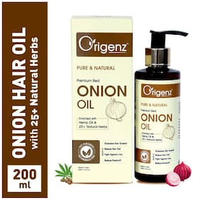 Origenz Red Onion Hair Oil for Hair Growth 200ml