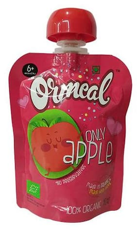 Ormeal Puree - Only Apple  100% Organic 90 g