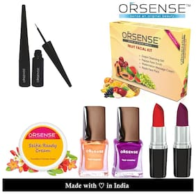ORSENSE Facial Kit With Makup Combo
