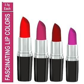 Orsense Lipstick 3.5 g ( Pack Of 4) Multi Color