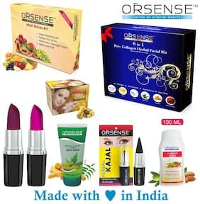 Orsense Make up Personal Care sets 450 g (Pack of 8)