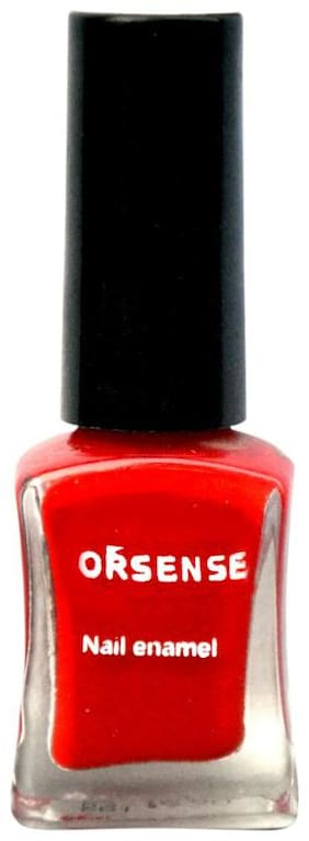 ORSENSE NAIL PAINT-HOT RED
