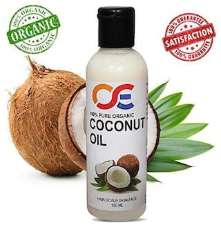 OSE Cold Pressed Unrefined Virgin Coconut Oil For Hair-Scalp-Skin-Face-Nails