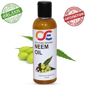 OSE Cold Pressed Unrefined Virgin Neem Oil For Hair-Scalp-Skin-Face-Nails