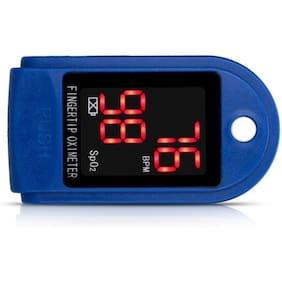 Ossden Finger Tip Digital Pulse Oximeter, Finger Tip Digital Pulse Oximete Pulse Oximeter (Blue) Pulse Oximeter  (Blue, White)