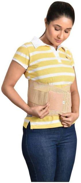 Ossden L.S Belt Premium Comfortable Pain Relief Back Support  (Beige)  Size Medium