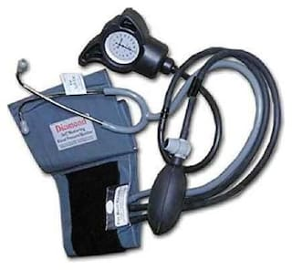 OTICA Diamond BPDL 231 Aneroid Blood Pressure Monitor with Built-In Stethoscope