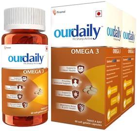 OurDaily Omega-3 120 Soft-gel Capsules