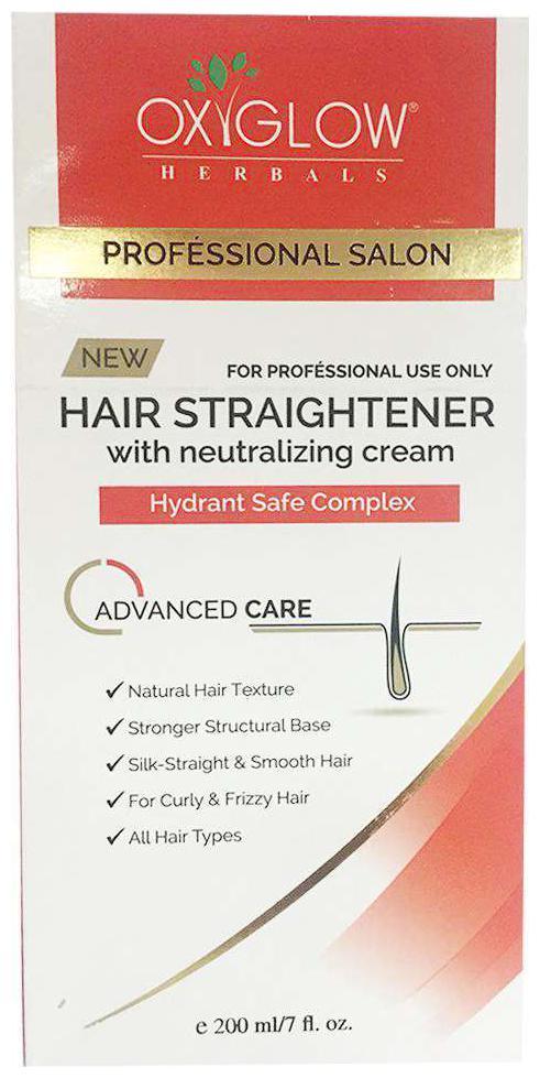 Oxyglow Hair Straightener, 240g Hair Styler